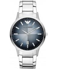 Emporio Armani AR2472 Reloj para hombre de acero de plata clásica