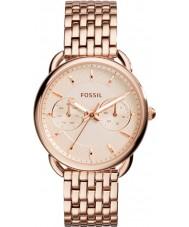 Fossil ES3713 Damas sastre rosa reloj de pulsera de acero de oro