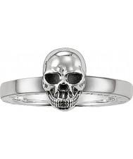 Thomas Sabo TR1876-001-12-54 Señoras de la plata del anillo del cráneo - tamaño o (UE 54)