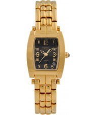 Krug-Baumen 1965DLG Tuxedo oro correa de oro negro de línea 4 del diamante