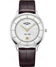 Rotary GS08300-02 Reloj ultra delgado para hombre