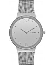 Skagen SKW2380 Señoras freja de acero de plata reloj pulsera