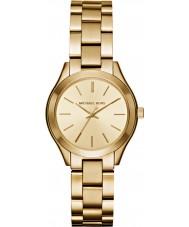 Michael Kors MK3512 Damas delgada de oro de la pista del reloj plateado de la pulsera