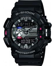 Casio GBA-400-1AER Mens g-shock bluetooth negro reloj combi