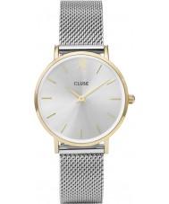 Cluse CL30024 reloj de señoras de malla minuit