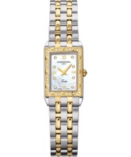 Raymond Weil 5971-SPS-00995 Damas tango reloj de diamantes de dos tonos