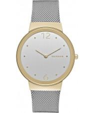 Skagen SKW2381 Señoras freja de acero de plata reloj pulsera