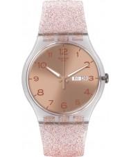 Swatch SUOK703 New Gent - glistar reloj de color rosa