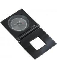 Police POMGA7-0801a Hypnos negro reloj de viaje