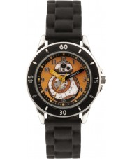 Disney SWM3046 Niños bb-8 reloj con correa de silicona negro