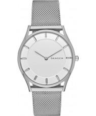 Skagen SKW2342 Señoras delgado reloj de la pulsera de acero de plata Holst