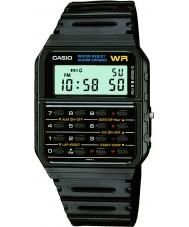 Casio CA-53W-1ER Para hombre de la edición limitada de vuelta al reloj negro futuro calculadora