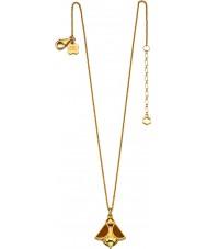 Orla Kiely N4037 Señoras de oro de la plata esterlina collar de abeja