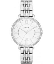 Fossil ES3545 Las señoras de plata Jacqueline reloj de acero de tono