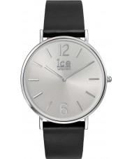 Ice-Watch 001514 City-Tanner exclusivo reloj de la correa de cuero negro