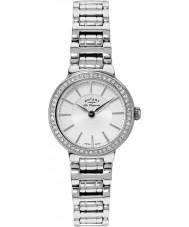 Rotary LB90081-02 Damas les originales reloj de plata