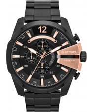 Diesel DZ4309 Mega jefe de reloj cronógrafo para hombre negro ip
