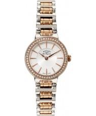 Rotary LB90083-02 Damas les originales reloj en dos tonos