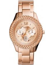 Fossil ES3590 Damas stella rosa reloj de oro