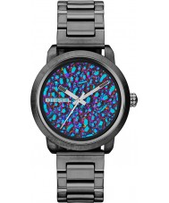 Diesel DZ5428 Damas llamarada reloj bronce ip arco iris