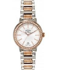 Rotary LB90083-02L Damas les originales reloj en dos tonos