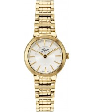 Rotary LB90084-02 Damas les originales reloj de oro