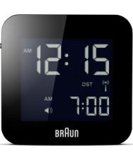 Braun BNC008BK-RC Recorrido global reloj de alarma por radio control - negro