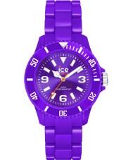 Ice-Watch 000630 reloj púrpura de hielo sólido