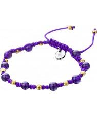 Shimla SH-910 Damas púrpura pulsera de hilar