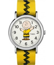 Timex TW2R41100 Reloj de fin de semana de Peanuts