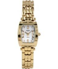 Krug-Baumen 1963DLG Tuxedo oro 4 diamante de la correa de oro esfera blanca