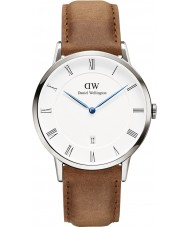 Daniel Wellington DW00100116 reloj de plata de 38 mm Durham Dapper