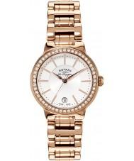 Rotary LB90085-02L Damas les originales reloj de oro rosa