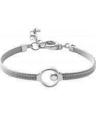 Skagen SKJ0834040 Señoras de la pulsera de acero de plata Elin