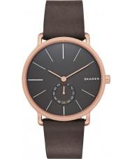 Skagen SKW6213 Reloj para hombre de la correa de cuero de chocolate Hagen