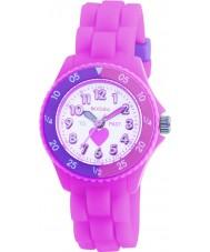 Tikkers TK0003 Niños reloj de goma de color rosa