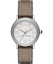 Marc Jacobs MJ1472 Damas riley reloj de la correa de cuero de color marrón claro