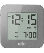 Braun BNC008GY-RC reloj despertador de viaje digital de gris