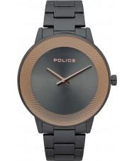 Police 15386JSU-61M Reloj de sol para hombre
