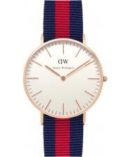 Daniel Wellington DW00100029 Damas clásico 36mm Oxford reloj de oro rosa