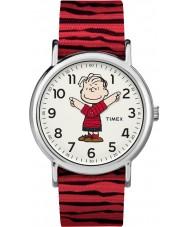 Timex TW2R41200 Reloj de fin de semana de Peanuts