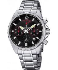 Festina F6835-2 plata para hombre reloj cronógrafo deportivo