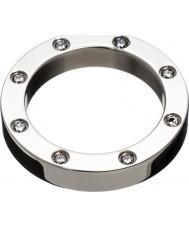 Edblad 82871 Señoras de ida anillo de acero - tamaño q (l)