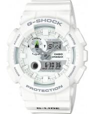 Casio GAX-100A-7AER Mens g-shock tiempo del mundo reloj blanca del combi
