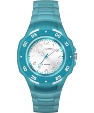 Timex TW5M06400 Cabritos del reloj azul de la correa de resina de maratón