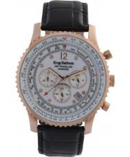 Krug-Baumen 600702DS reloj de diamantes viajero aéreo para hombre