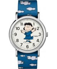 Timex TW2R41300 Reloj de fin de semana de Peanuts