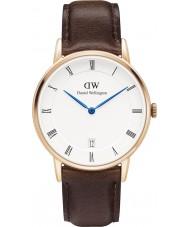 Daniel Wellington DW00100094 34mm Dapper Bristol rosa reloj de oro