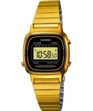 Casio LA670WEGA-1EF Colección de oro plateado del reloj digital