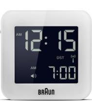 Braun BNC008WH-RC Recorrido global reloj de alarma por radio control - blanco